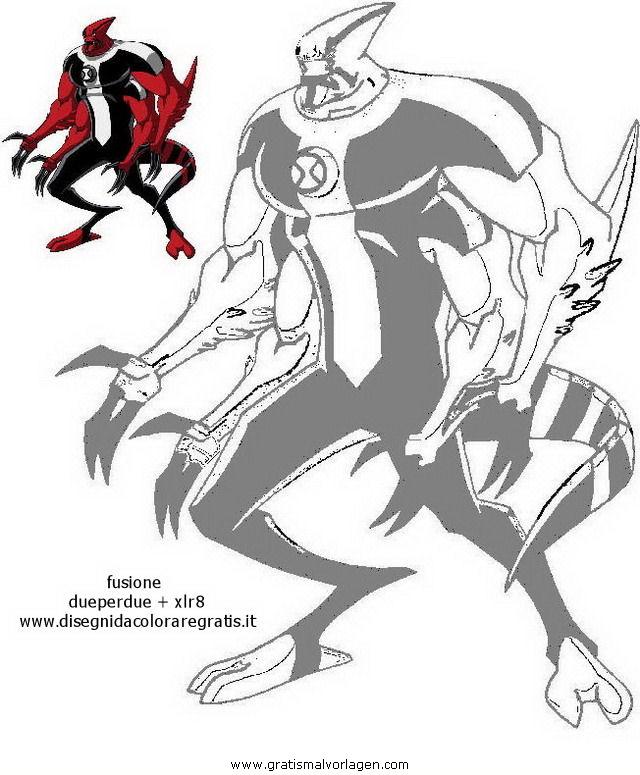 ben 10 29 gratis Malvorlage in Ben 10, Comic & Trickfilmfiguren ...
