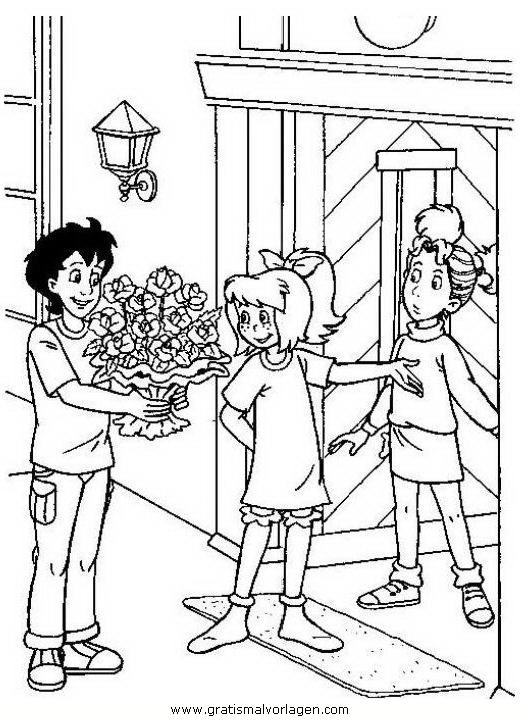 Bibi Blocksberg 19 Gratis Malvorlage In Bibi Blocksberg Comic
