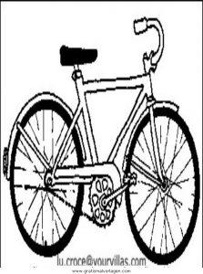 Fahrrad Gratis Malvorlage In Sport Verschiedene Sportarten Ausmalen