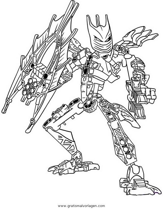 Lego Bionicle Malvorlagen Coloring And Malvorlagan