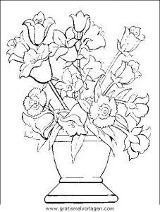 Blumen 295 Gratis Malvorlage In Blumen Natur Ausmalen
