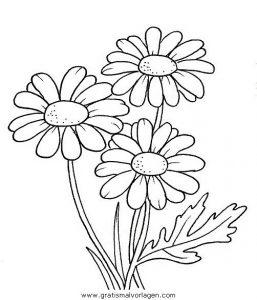 Blumen 305 Gratis Malvorlage In Blumen Natur Ausmalen