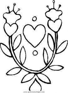 Malvorlage Blumen blumen 342