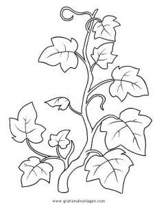 Blumenranken Gratis Malvorlage In Blumen Natur Ausmalen