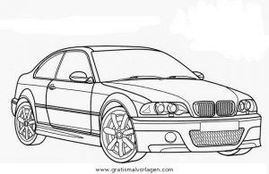 ausmalbilder autos bmw - ausmalbilder