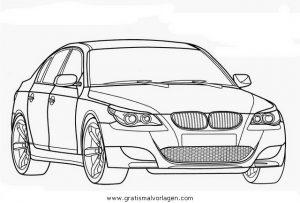 Bmw M5 Gratis Malvorlage In Autos2 Transportmittel Ausmalen