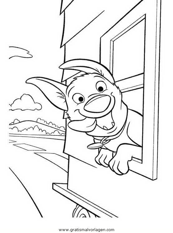 Rayman 11 Gratis Malvorlage In Comic Trickfilmfiguren: Bolt 11 Gratis Malvorlage In Bolt, Comic