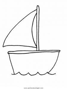 Boote 00 Gratis Malvorlage In Boote Transportmittel Ausmalen