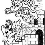 Toadette 7 Gratis Malvorlage In Comic Trickfilmfiguren Mario