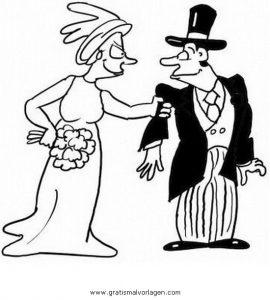 Brautpaar 14 Gratis Malvorlage In Beliebt04 Diverse Malvorlagen