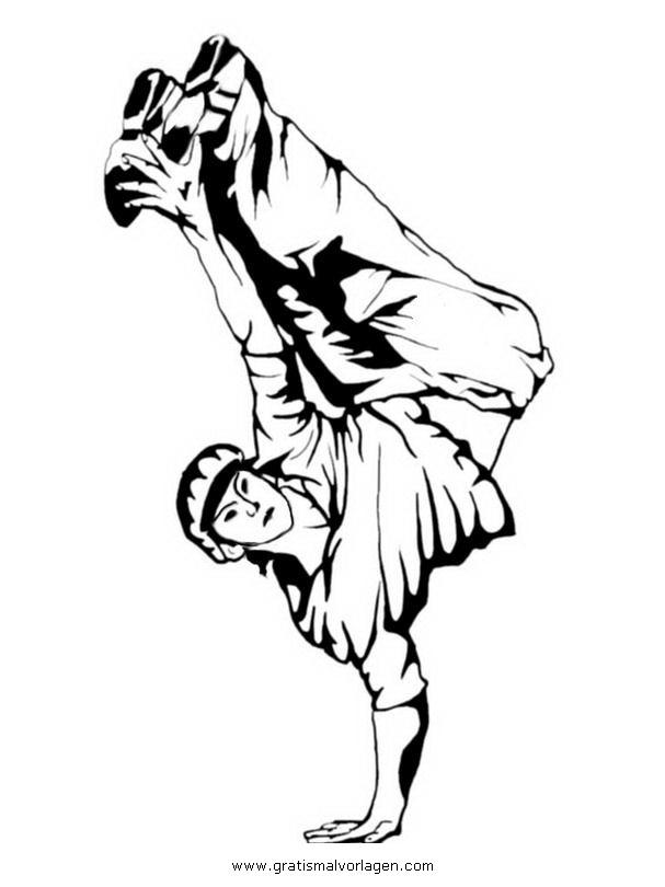 Fantastisch Ausmalbilder Breakdance Bilder - Framing Malvorlagen ...