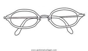 Brille 50 Gratis Malvorlage In Beliebt02 Diverse Malvorlagen Ausmalen