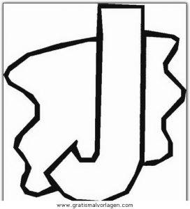 Buchstaben 10 Gratis Malvorlage In Alphabet Buchstaben Ausmalen