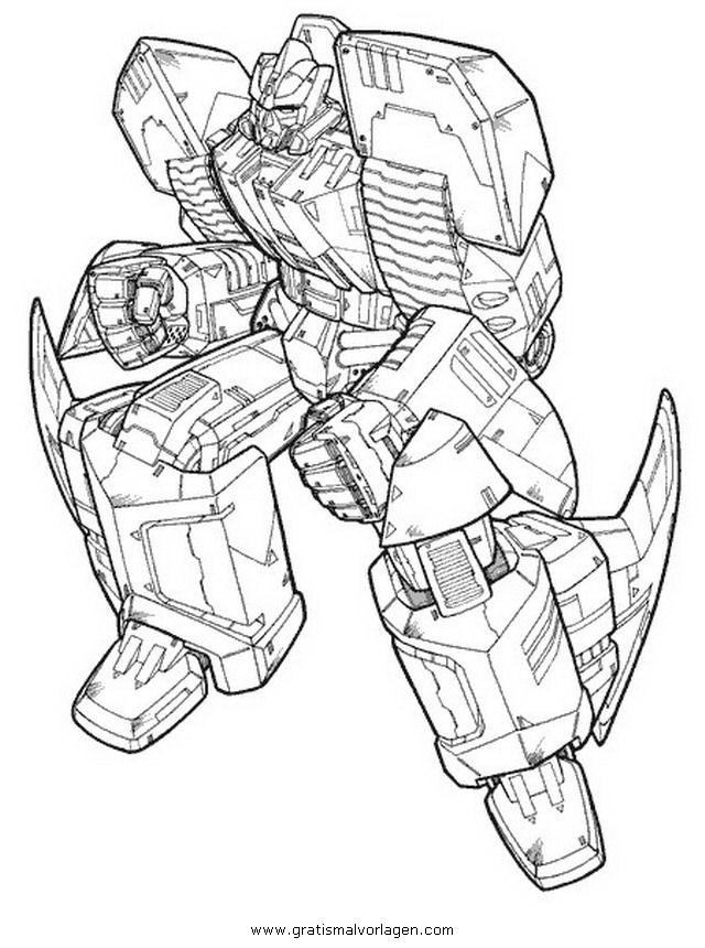 Transformers Malvorlagen Zum Ausmalen Für Kinder