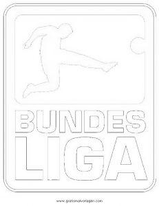 Bundesliga Gratis Malvorlage In Beliebt06 Diverse Malvorlagen