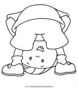 Caillou 38 Gratis Malvorlage In Caillou Comic Trickfilmfiguren