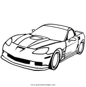 Chevrolet Corvette Zr1 Gratis Malvorlage In Autos2 Transportmittel