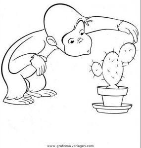 Coco Affe 23 Gratis Malvorlage In Coco Comic Trickfilmfiguren