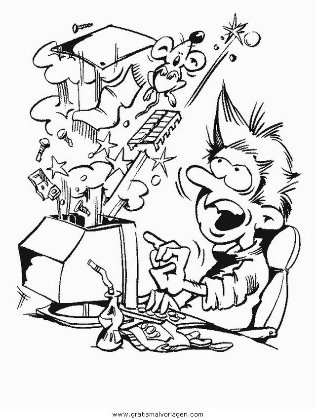 Rayman 11 Gratis Malvorlage In Comic Trickfilmfiguren: Computer Pc 11 Gratis Malvorlage In Computer, Diverse