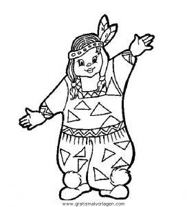 Cowboy Farwest 006 Gratis Malvorlage In Indianer Menschen Ausmalen