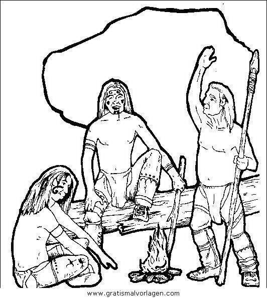 indianer 038 gratis malvorlage in indianer menschen