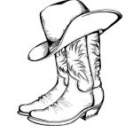 Cowboy Malvorlagen Zum Ausmalen Für Kinder