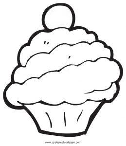 Cupcake 2 Gratis Malvorlage In Beliebt11 Diverse Malvorlagen Ausmalen