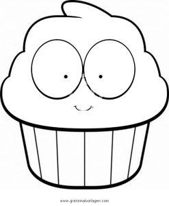 Cupcake 3 Gratis Malvorlage In Beliebt11 Diverse Malvorlagen Ausmalen