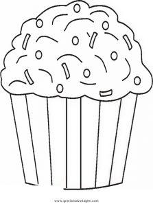 Cupcake 5 Gratis Malvorlage In Beliebt11 Diverse Malvorlagen Ausmalen