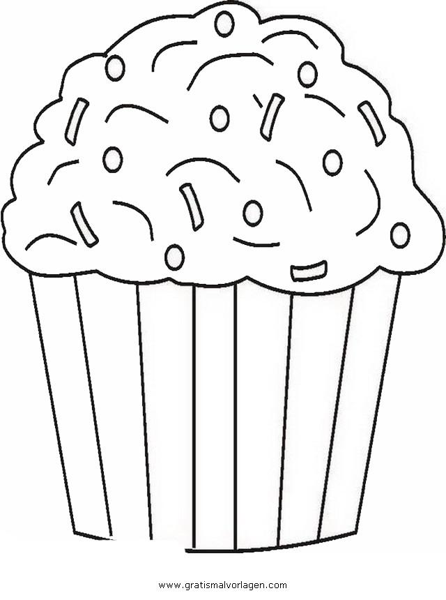cupcake 5 gratis Malvorlage in Beliebt11, Diverse Malvorlagen - ausmalen