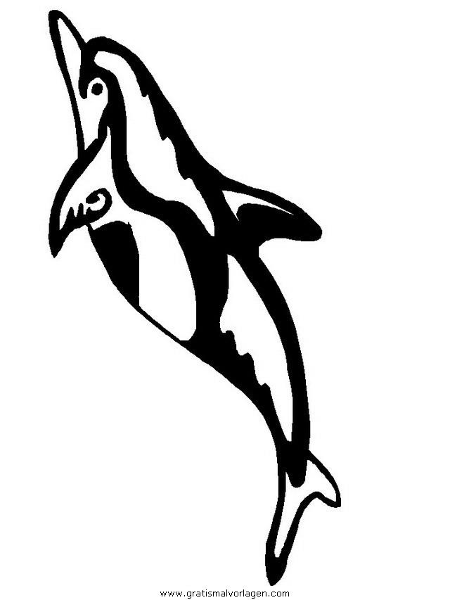delphine 03 gratis malvorlage in delfine tiere  ausmalen