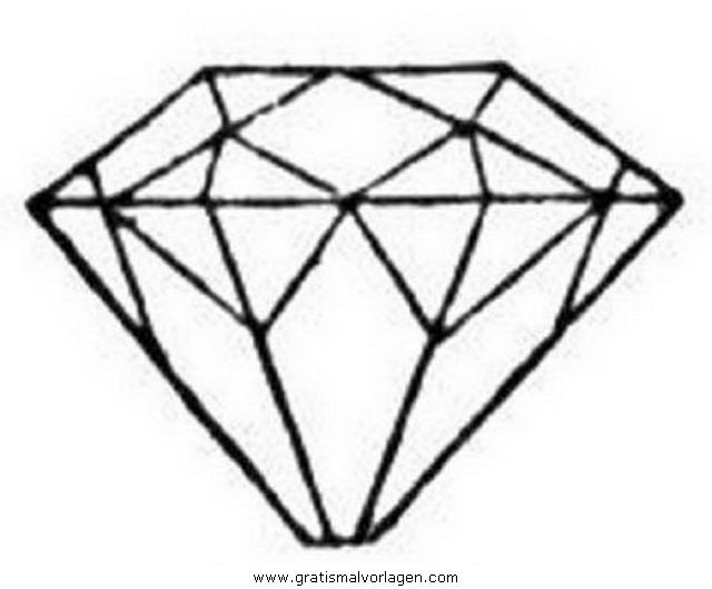 diamant 3 gratis Malvorlage in Beliebt02, Diverse Malvorlagen - ausmalen