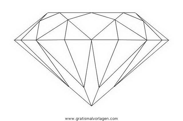 diamant 5 gratis Malvorlage in Beliebt02, Diverse Malvorlagen - ausmalen