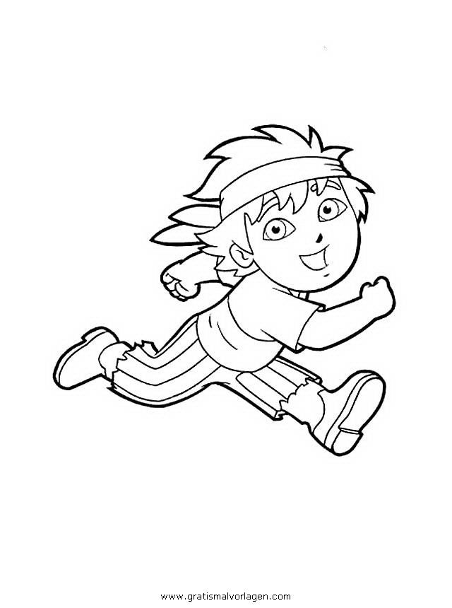 diego 15 gratis malvorlage in comic  trickfilmfiguren