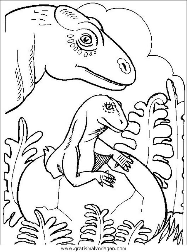 dinosaurier 12 gratis malvorlage in dinosaurier tiere