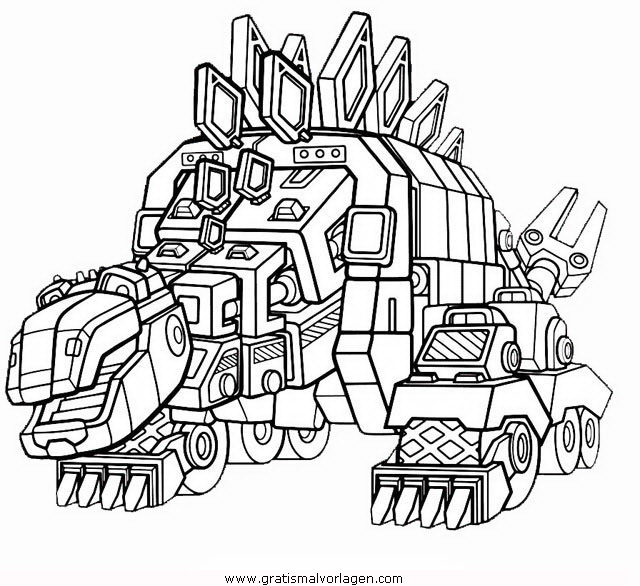 Dinotrux Coloring Pages