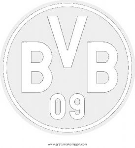 Malvorlage Beliebt05 dortmund bvb