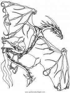 Drachen 022 Gratis Malvorlage In Drachen Fantasie Ausmalen