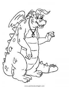 Malvorlage Drachen drachen 072