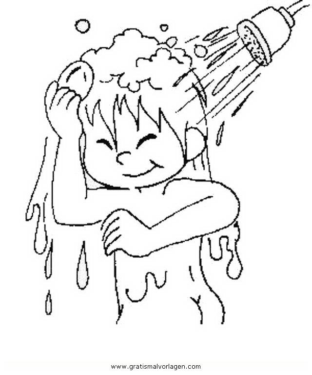 dusche 2 gratis malvorlage in beliebt05 diverse