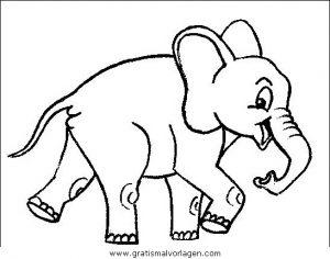 elefanten 31 gratis malvorlage in elefanten, tiere - ausmalen