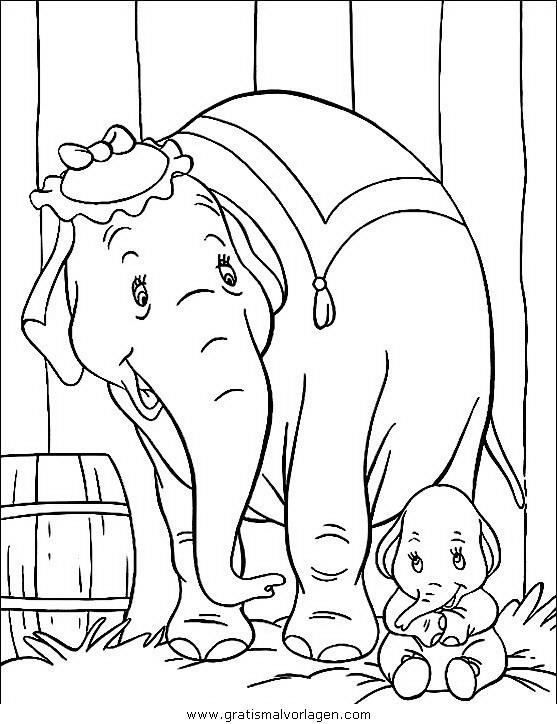 elefanten 38 gratis malvorlage in elefanten tiere  ausmalen