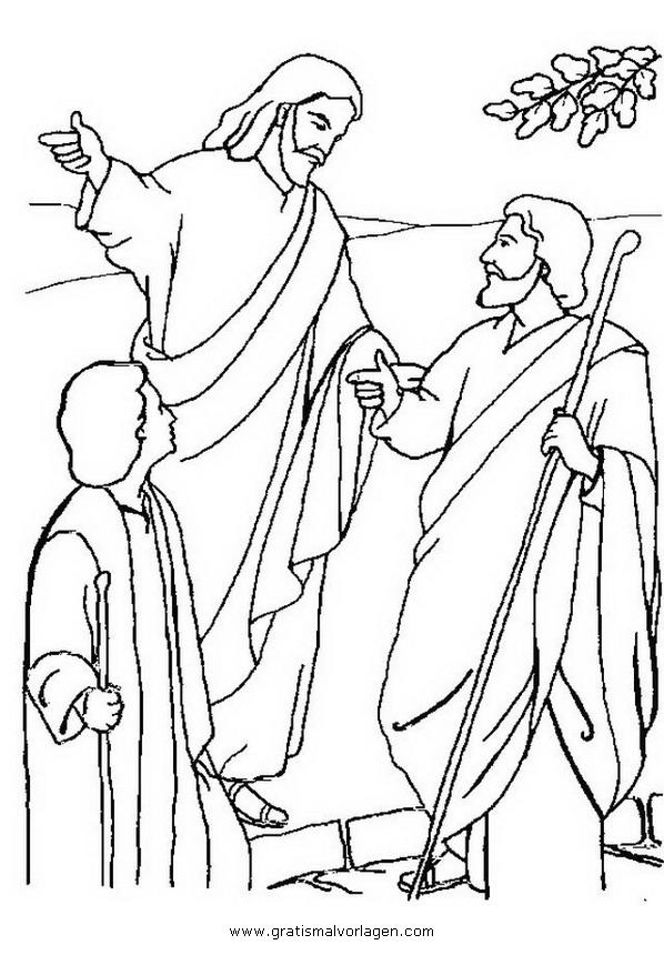 Kruisiging Kleurplaat Emmaus 3 Gratis Malvorlage In Religionen Religi 246 Se Bilder