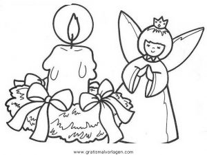 engel 40 gratis malvorlage in engel, weihnachten - ausmalen
