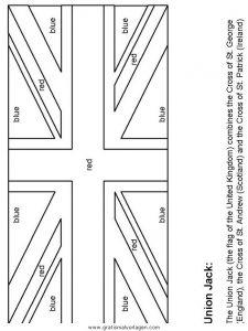 malvorlage flagge gro britannien malvorlagencr. Black Bedroom Furniture Sets. Home Design Ideas
