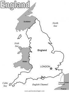 England 19 Gratis Malvorlage In England Geografie Ausmalen