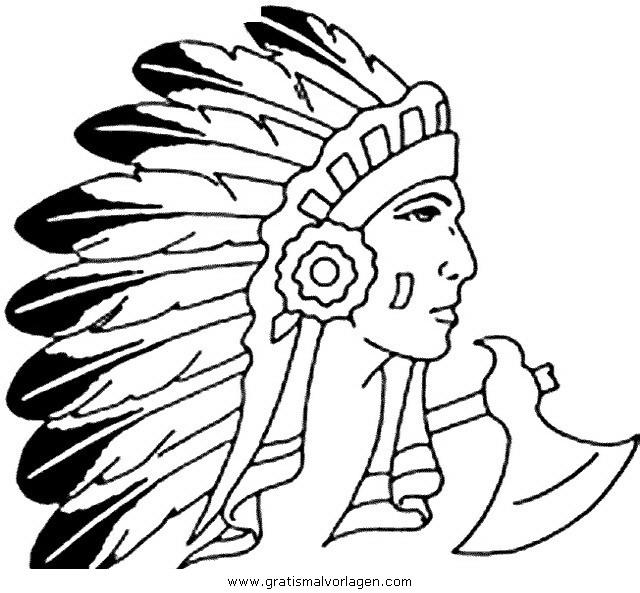 federn 78 gratis malvorlage in indianer menschen  ausmalen