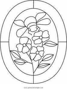 Malvorlage Geometrische Formen fensterbilder 4