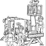 Feuerwehrmann Sam Malvorlagen Zum Ausmalen Für Kinder
