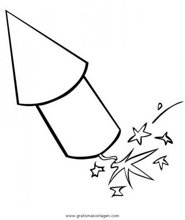 feuerwerk 11 gratis malvorlage in feste silvester  ausmalen